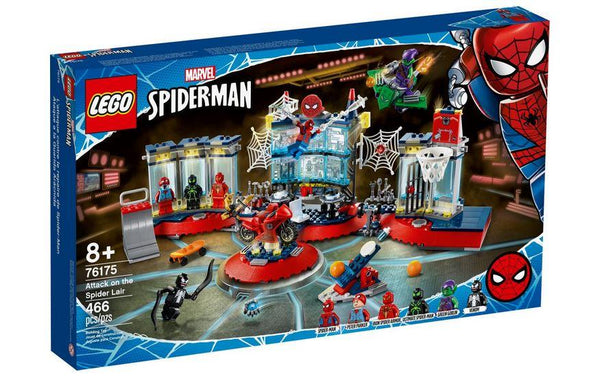 Lego Marvel Spiderman Attack on the Spider Lair - 76175 - Jouets LOL Toys