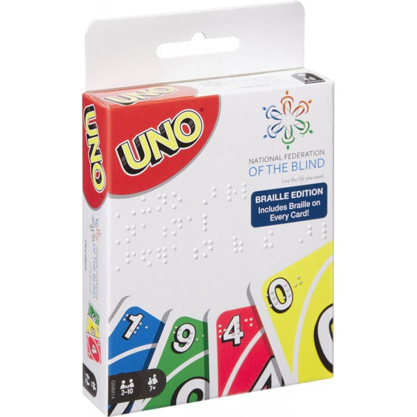 Uno Braille Card Game - Jouets LOL Toys