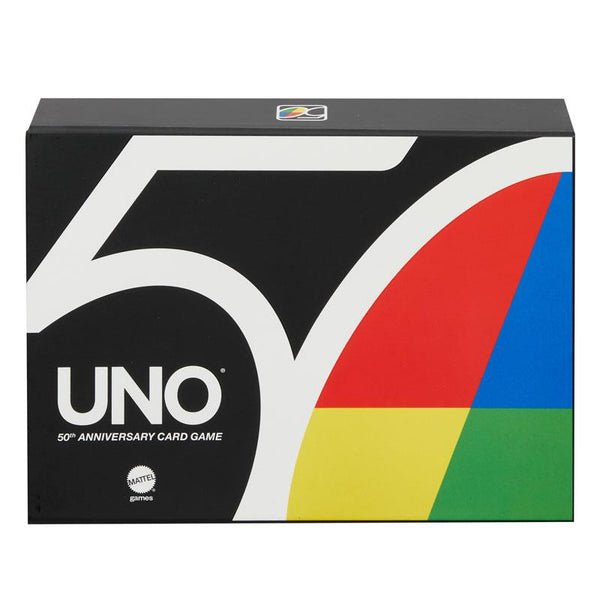 Uno 50th Anniversary Limited Edition Card Game