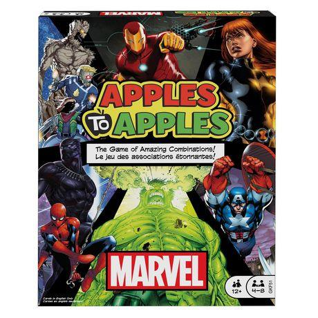 Apples to Apples Marvel (English) - Jouets LOL Toys
