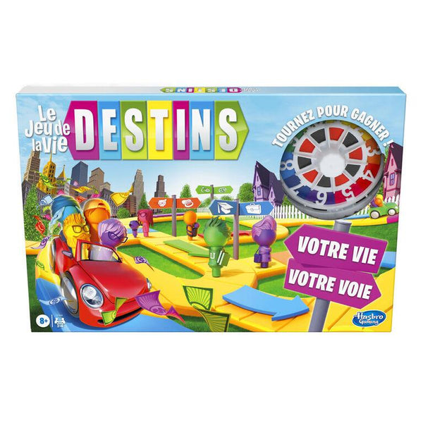 Le jeu de la vie Destins (Game of Life French) - Jouets LOL Toys