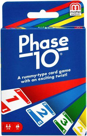 Phase 10 Card Game - Jouets LOL Toys