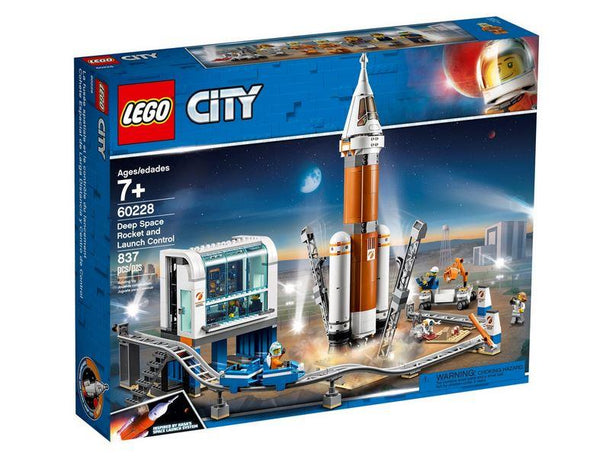 Lego City Deep Space Rocket and Launch Control - 60228 - Jouets LOL Toys
