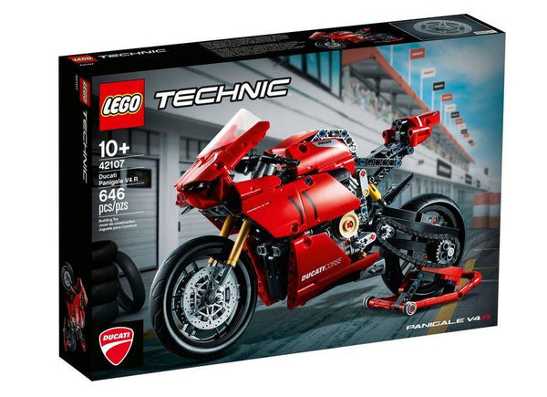 Lego Technic Ducati Panigale V4 (42107) - Jouets LOL Toys