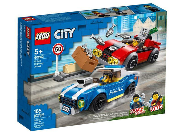 Lego City Police Highway Arrest - 60242 - Jouets LOL Toys