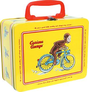 Curious George Tin Box - Jouets LOL Toys