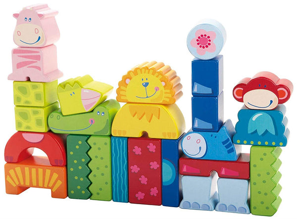 Haba Eeny, Meeny, Miny, Zoo! Building Blocks - Jouets LOL Toys