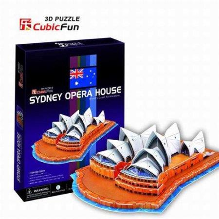 3D Puzzle Sidney Opera House