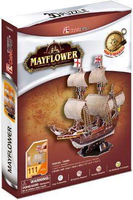 3D Puzzle Mayflower