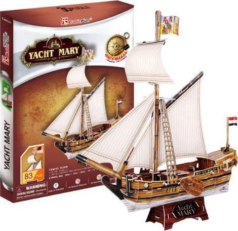 3D Puzzle Yacht Mary - Jouets LOL Toys