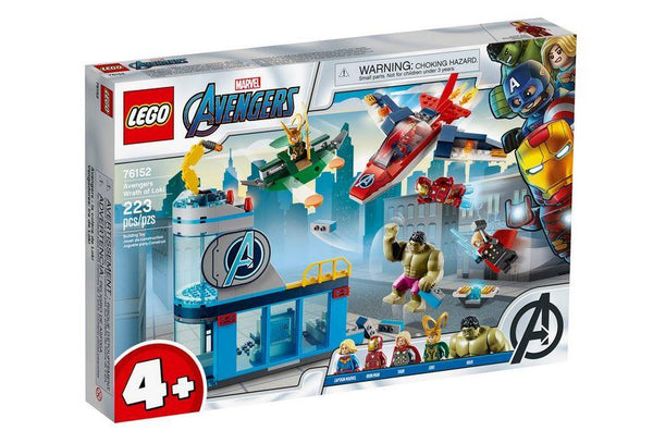 Lego Disney Marvel Avengers Wrath of Loki - 76152