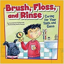 Brush, Floss and Rinse Book - Jouets LOL Toys