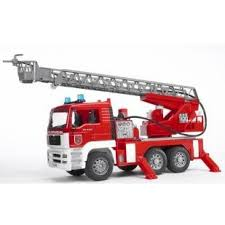 Bruder MAN Fire Engine with Water Pump - Jouets LOL Toys