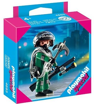 Playmobil Special SWAT Officer Figure - Jouets LOL Toys
