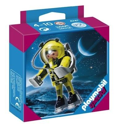 Playmobil Astronaut Yellow Figure - Jouets LOL Toys