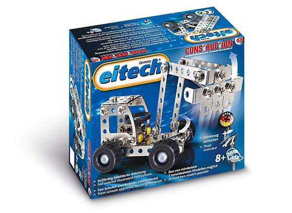 Eitech C68 Digger & Truck Building Kit - Jouets LOL Toys