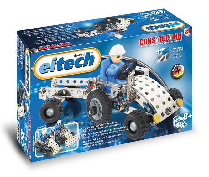 Eitech C81 Basic Tractor w Trailer Construction Set - Jouets LOL Toys