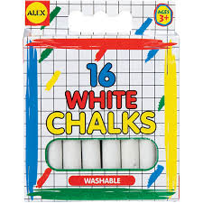 Alex White Chalks - Jouets LOL Toys
