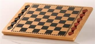 "14.5"" Checkers Wooden Set - Jouets LOL Toys"