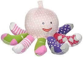 Mrs. Sock Plush Octoppus Pink - Jouets LOL Toys