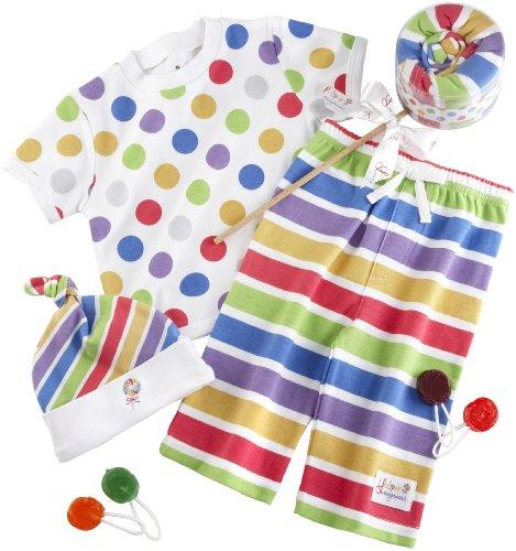 Baby Aspen Lollipop Loungewear 3 Pcs Set - Jouets LOL Toys