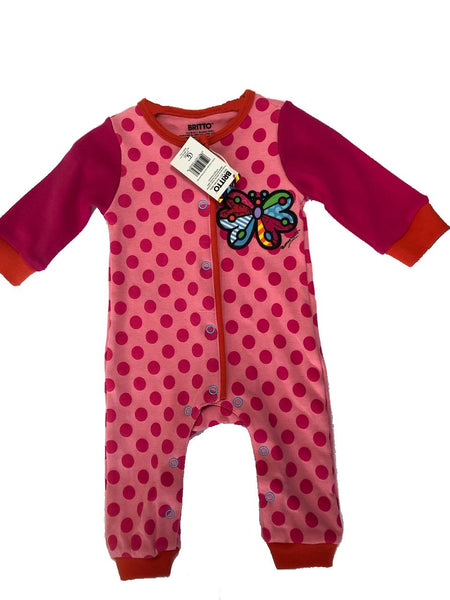 Britto Onesie Butterfly (0 - 6 months) - Jouets LOL Toys