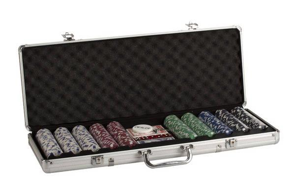500 Pc Aluminium Poker Set - Jouets LOL Toys