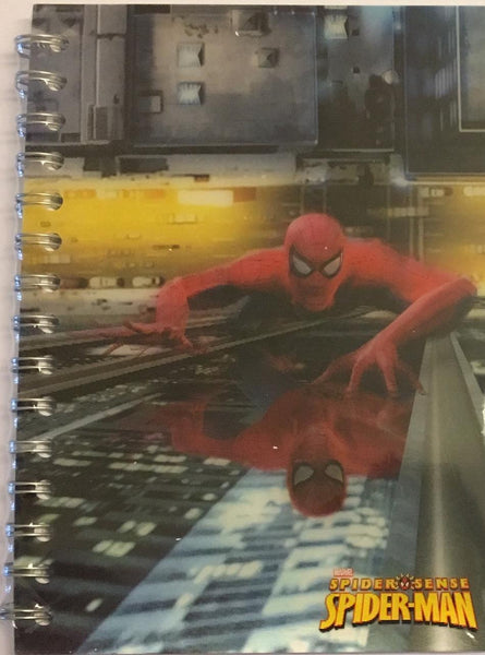 Spider-Man Climbing 3D Motion Notebook - Jouets LOL Toys