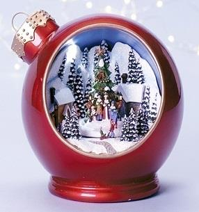 Christmas Musical & Lighted Ornament - Jouets LOL Toys
