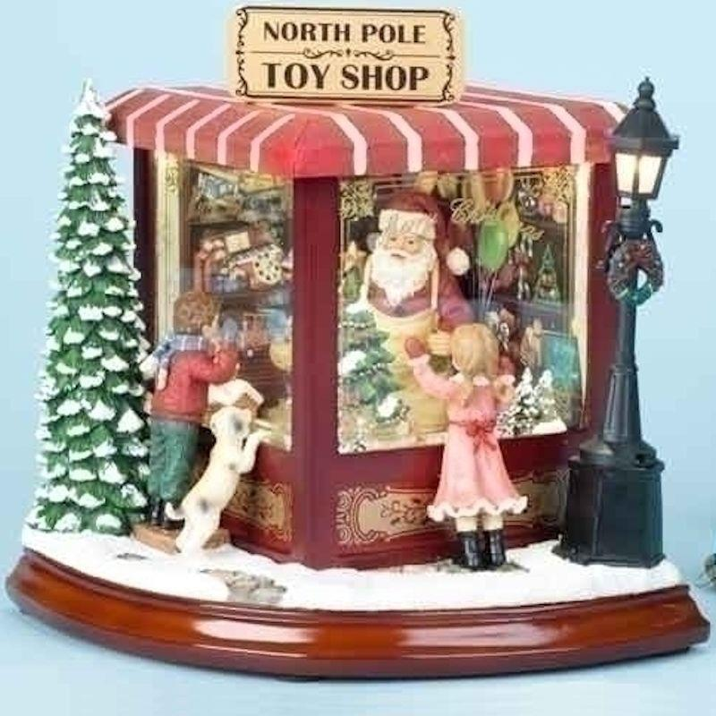 Santa Claus North Pole Toy Shop Figurine - Jouets LOL Toys