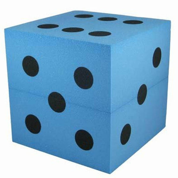 Giant Blue Decoration Foam Dice (Montreal, In-Store or Pickup ONLY)
