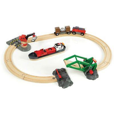 Brio Cargo Harbor Train Set - Jouets LOL Toys