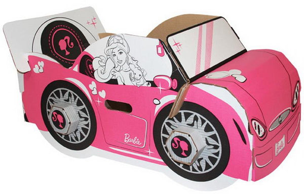 Barbie Build It Yourself Carboard Car - Jouets LOL Toys