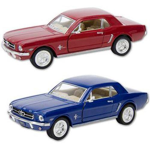 Die Cast 1964 1/2 Ford Mustang Car Pull Back - Jouets LOL Toys