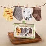 Baby Aspen Safari Animal Socks - Jouets LOL Toys