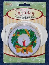 Holiday Playing Cards Wreath - Jouets LOL Toys