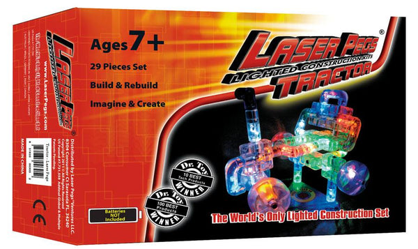 Laser Pegs Tractor Kit - Jouets LOL Toys