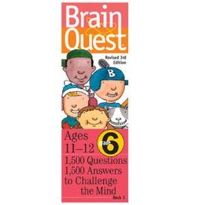 Brain Quest 6th Grade - Jouets LOL Toys