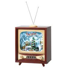 "Roman Xmas 13"" TV With Skaters - Jouets LOL Toys"