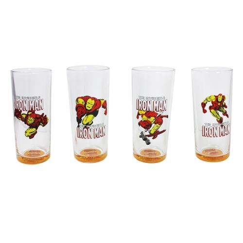 Disney Iron Man 4 Pcs Glass Set - Jouets LOL Toys