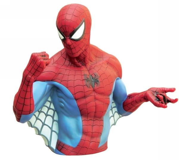 Marvel Spider-Man Bust Bank - Jouets LOL Toys