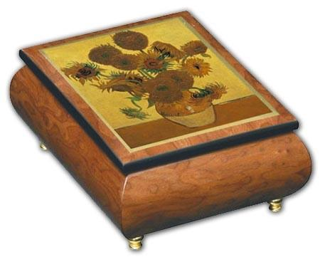 Ercolano Music Box Sunflowers - Jouets LOL Toys