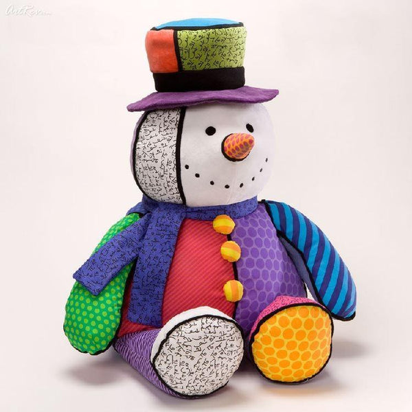 Britto Plush Snow Man - Jouets LOL Toys