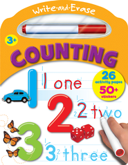 Write and Ease Counting Book - Jouets LOL Toys