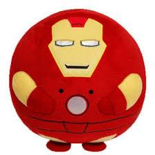 TY Beanie Ballz Marvel - Iron Man (Small)