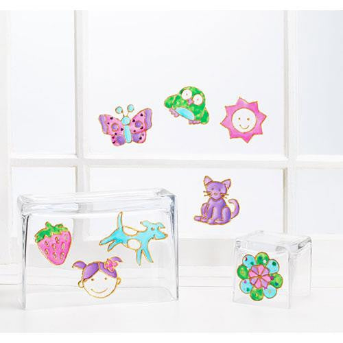 Imagine I Can Creative Color Sticker Clings - Jouets LOL Toys