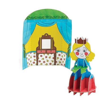 Imagine I Can Create & Color Princess - Jouets LOL Toys