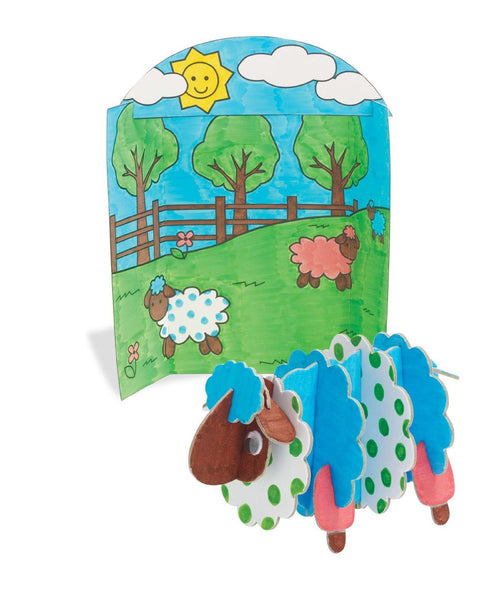 Imagine I Can Create & Color Sheep - Jouets LOL Toys