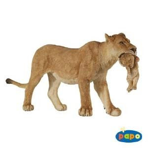 Papo Lionness with Cub - Jouets LOL Toys