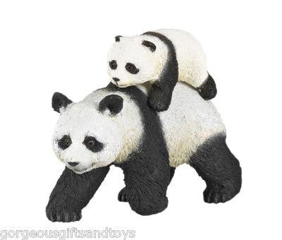 Papo Panda with Baby - Jouets LOL Toys